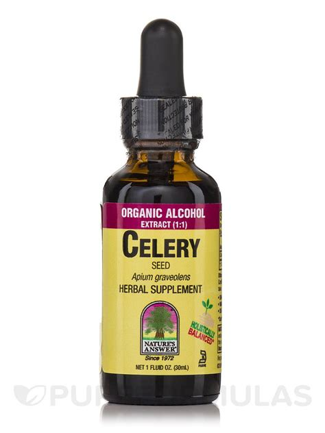 Celery Extract By Sea Quill celery seed extract 1 fl oz 30 ml