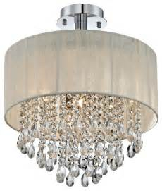 flush mount ceiling light shade possini antique ivory shade ceiling