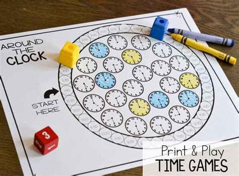 printable games for time measurement and time print play games thank god it s