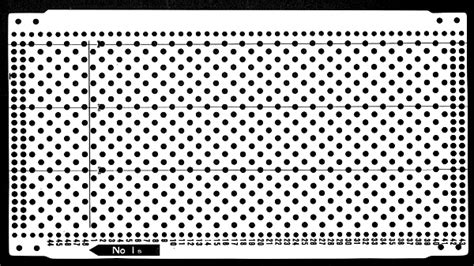 knitting machine punch card templates pre punched card set knitting machine kh830 kh836