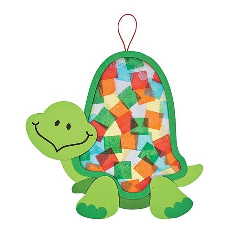 paper craft kit colorful turtle tissue paper craft kit tissue paper