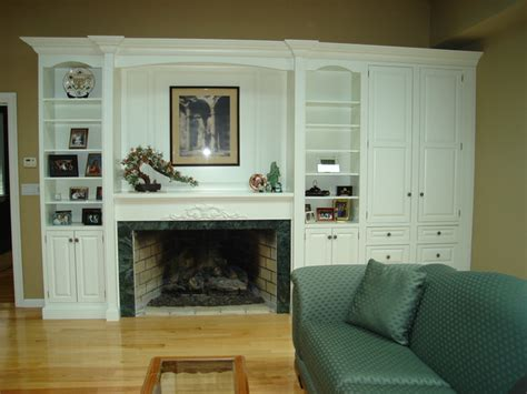 Fireplace Wall Unit by Fireplace Surround And Wall Unit
