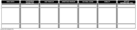 epic templates characteristics of an epic template worksheet