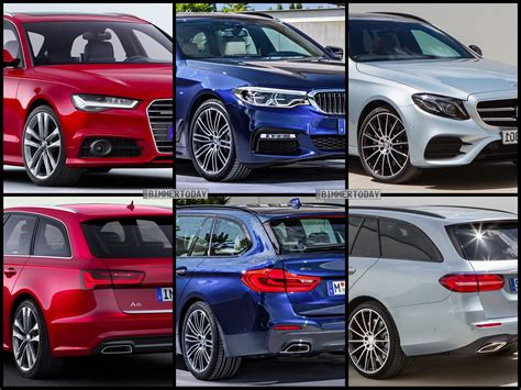 Audi A6 Oder Bmw 5er bmw 5 series touring vs mercedes benz e class estate vs