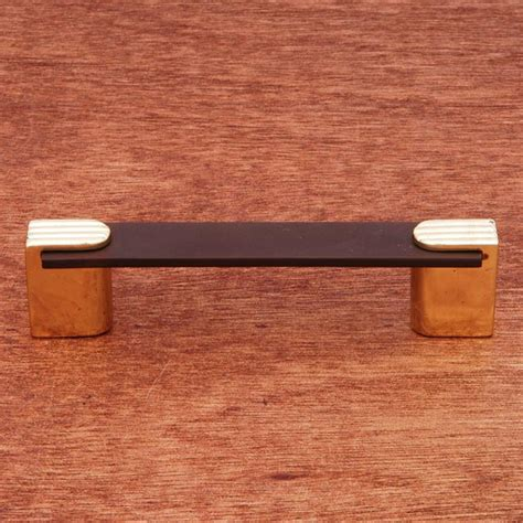 two tone cabinet pulls rk international cp 45 brb solid brass cabinet pull