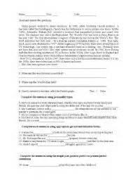 english worksheet progress test year 8