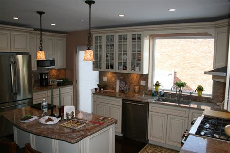 Kitchen Cabinets Bronx Hobart Avenue Bronx Kitchen New York By Tarallo Kitchen And Bath Inc