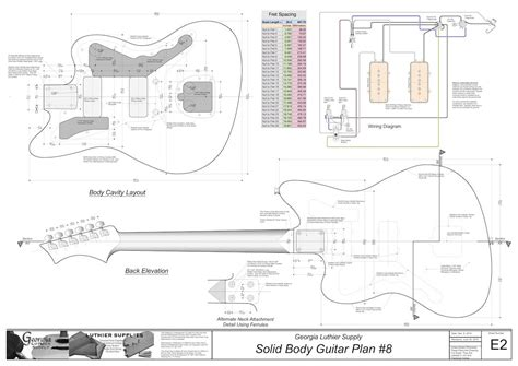 solid electric guitar plans 8 electronic version