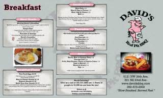breakfast lunch and dinner menu template bbq restaurant menus breakfast lunch dinner