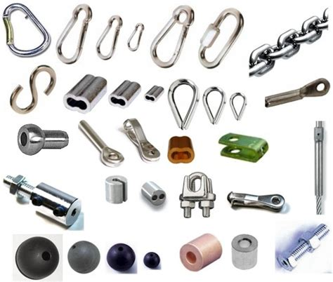 fitness cable hardware hooks thimbles swage sleeves cable