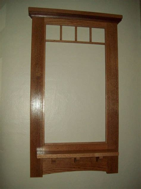 craftsman mirror craftsman wall mirror by bill canby lumberjocks