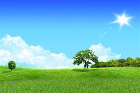 imagenes de verdes praderas portada para facebook un sol brillante sobre una verde