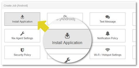 android application installation how to install android application apk on devices remotely using suremdm 42gears mobility systems