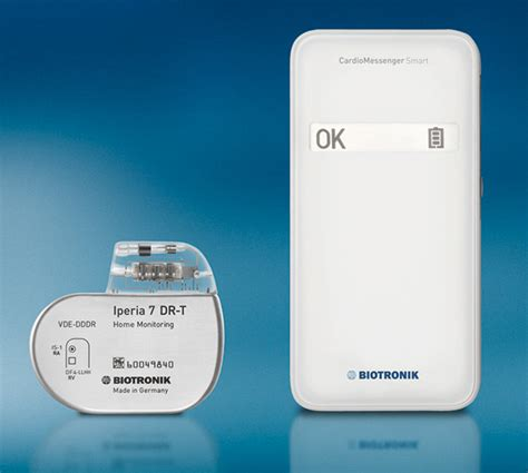 biotronik cardiomessenger smart shares pacemaker and icd