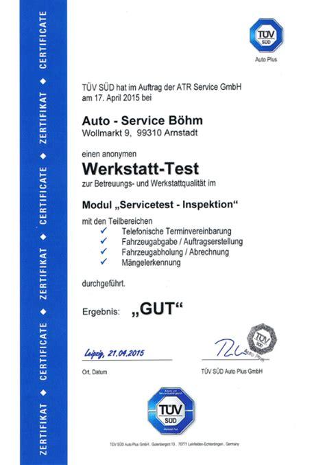 auto werkstatt test autoservice boehm service werkstatt