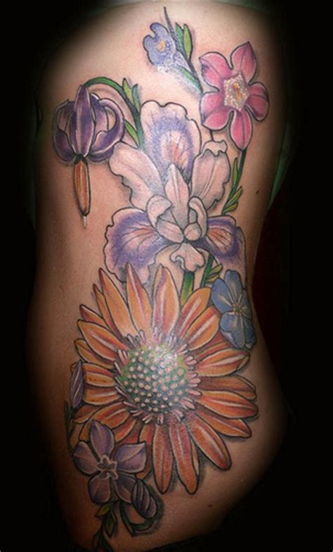 flower rib tattoos flower rib tattoos for tedlillyfanclub