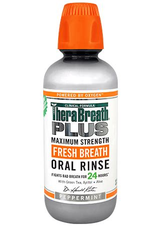 mouthwash  dry mouth therabreath