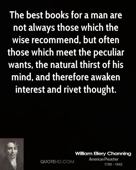 Trashionista Recommends Meet The Author by William Ellery Channing Quotes Quotehd