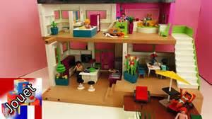 villa de luxe playmobil avec piscine cuisine sale de