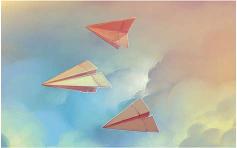 Origami Wallpaper - paper airplanes origami hd wallpaper 9hd wallpapers