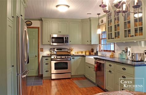 attractive Country Cottage Kitchen Accessories #1: transitional-kitchen.jpg