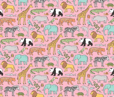 doodle jungle zoo jungle animals doodle with panda giraffe tiger