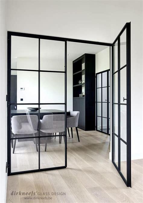 interieur design kleine ruimtes smeedijzeren deuren dirk neefs glass design interieur