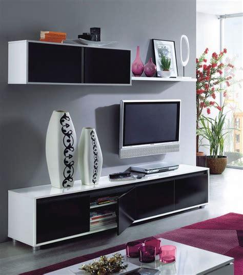 living room tv stands home est lena black white gloss living room tv stand wall