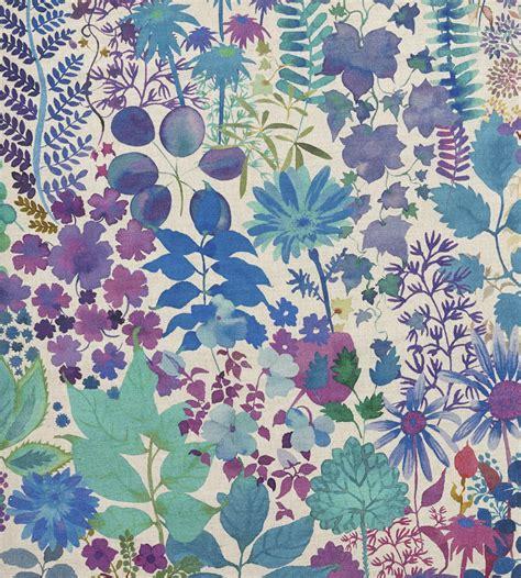 art pattern fabric fresco lagoon fabric the nesfield collection liberty art