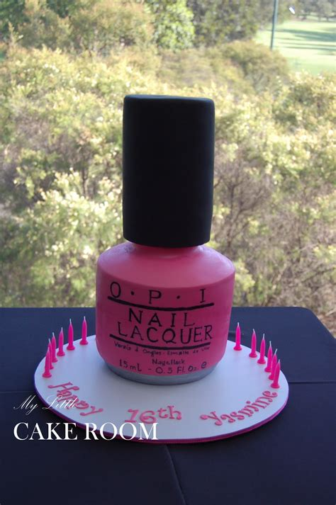 Nagellack Schlamm by My Cake Room Nail Cake