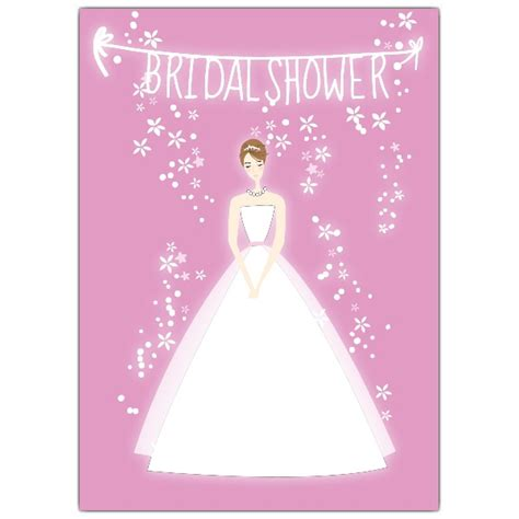 bridal shower images pink bridal shower invitations paperstyle