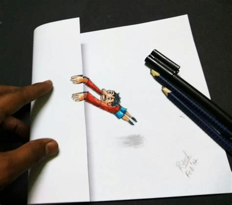 how to make 3d illusion 3d 3d drawing on paper 3d illusion art 3d trick art how to