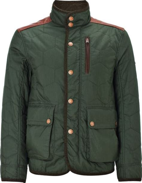 rugged mens jacket timberland timberland rugged quilted jacket green in green for lyst