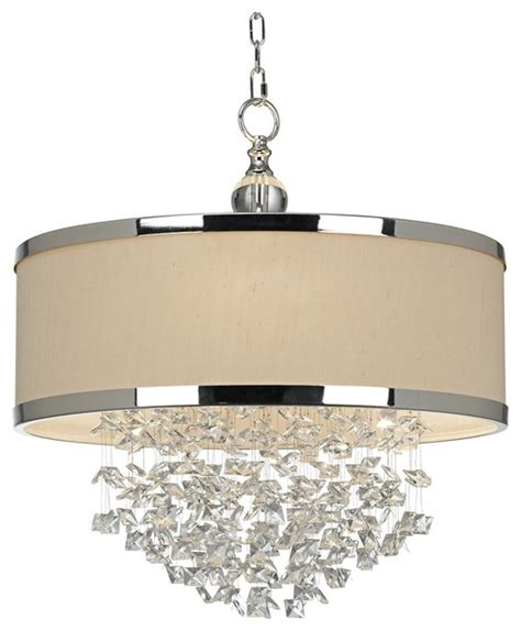 Uttermost Fascination uttermost fascination 3 light chandelier contemporary chandeliers