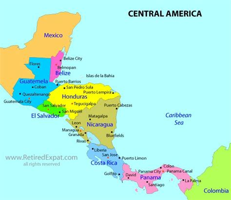 south america map and central america 17 best images about what where central south