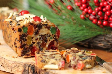christmas fruit cake recipe dishmaps