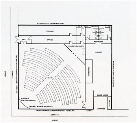 movie theater floor plan home ideas