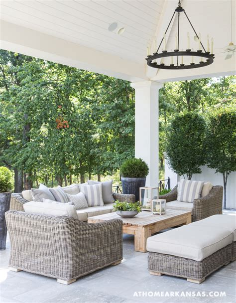 covered outdoor seating covered porch contemporary deck patio at home in