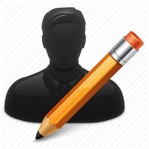 Style Pencil Kotak Pensil account edit pencil pensil person profile user users icon icon
