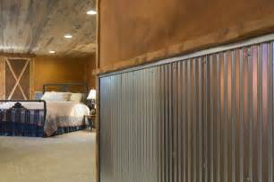 Interior Siding Ideas Corrugated Metal For Interior Walls Wainscot 1 1 4