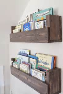 shelving for books the picket fence projects baby s book nook