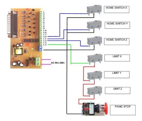 tb6560 limit switch schematic tb6560 get free image
