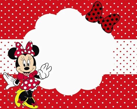minnie mouse place cards template minnie mouse printable invitation template for