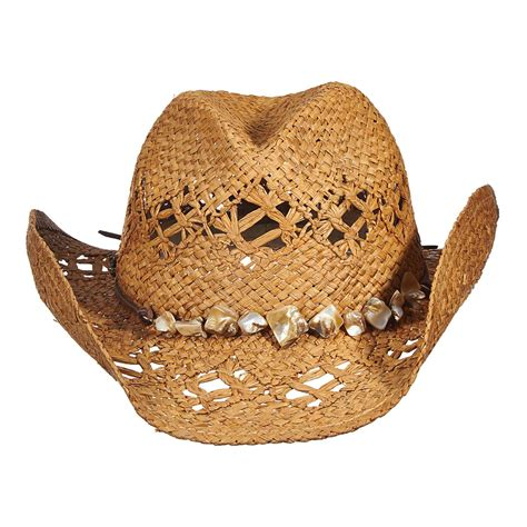 womens straw cowboy hats