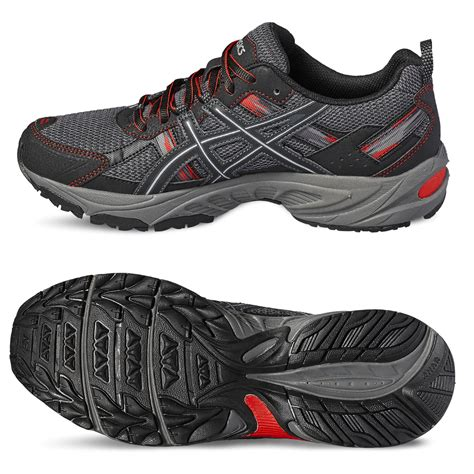 mens running sneakers asics venture 5 mens running shoes sweatband