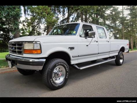 buy car manuals 2010 ford f350 transmission control 1994 ford f 350 xlt crew cab 5 speed manual 8ft bed 5 speed manual 4 door truck for sale photos