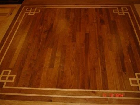 Hardwood Floor Borders Ideas Home Improvements Hardwood Flooring Decorative Designs And Borders Home
