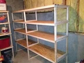 diy storage shelves 20 diy garage shelving ideas guide patterns