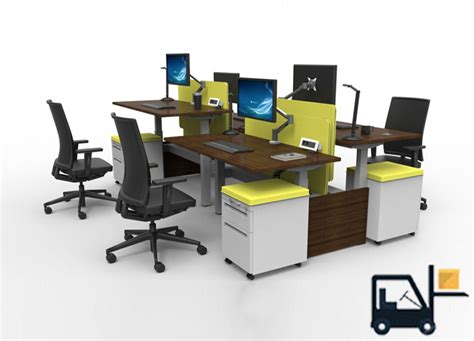 desk stands sit stand desks by cubicles