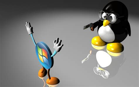 X Linux linux vs windows wallpapers 1680x1050 214760